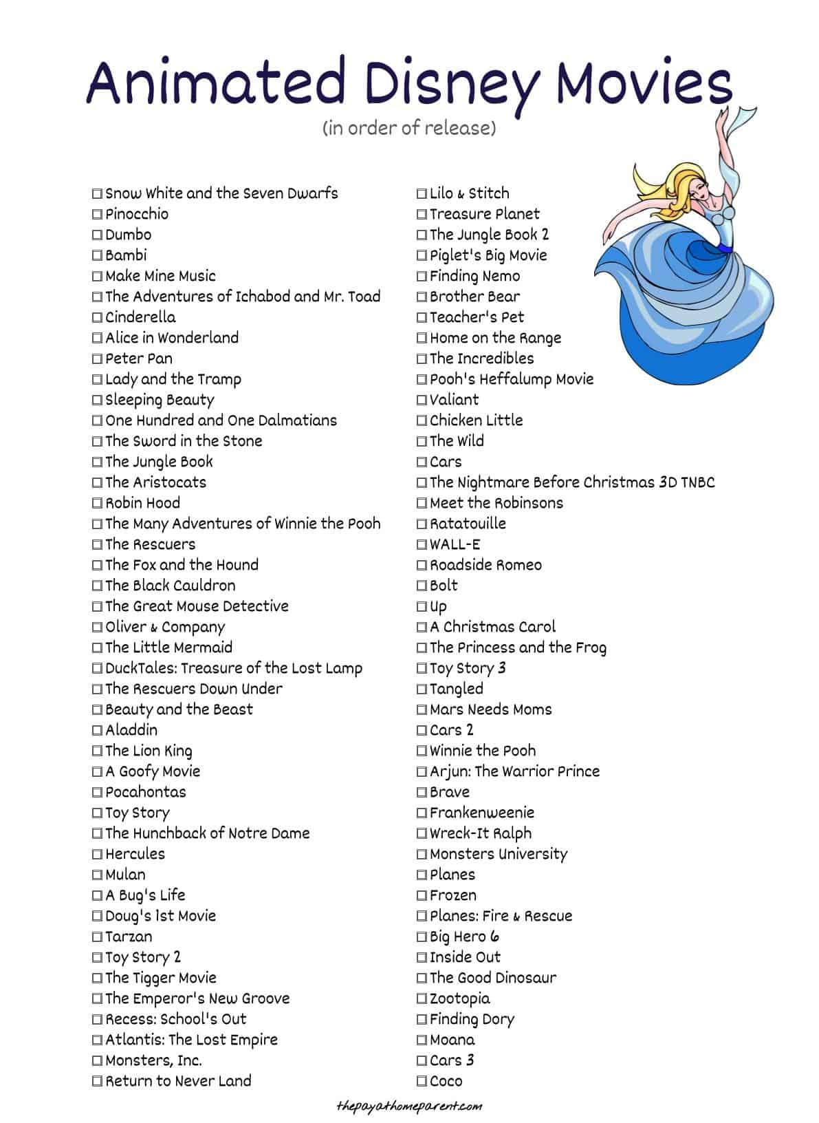 400 Disney Movies List That You Can Download [Right Now ...