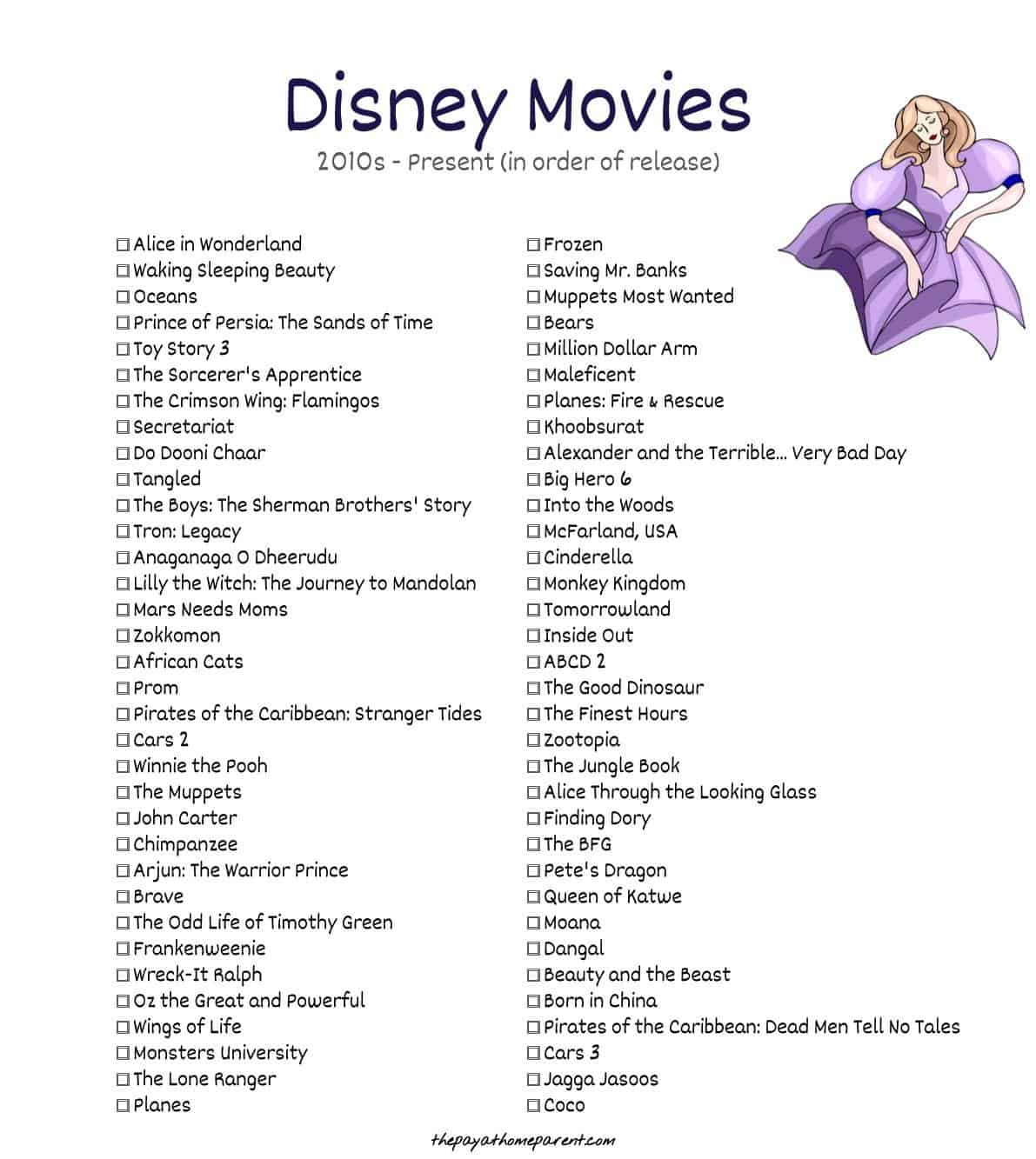 400+ Disney Movies List That You Can Download Absolutely FREE