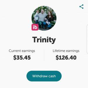 Ibotta cash back earnings