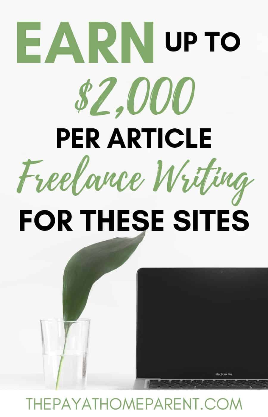 earn money freelance writing