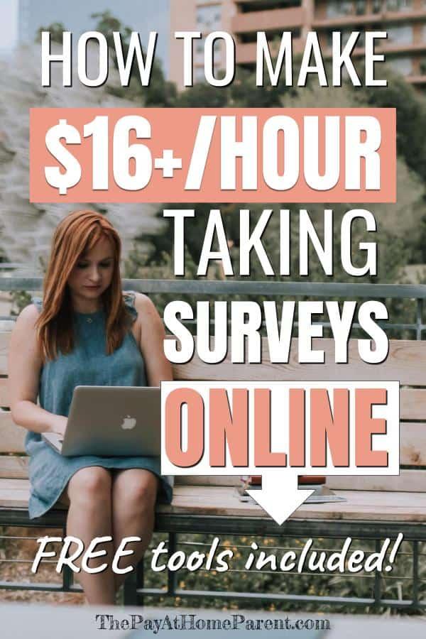 taking surveys for money