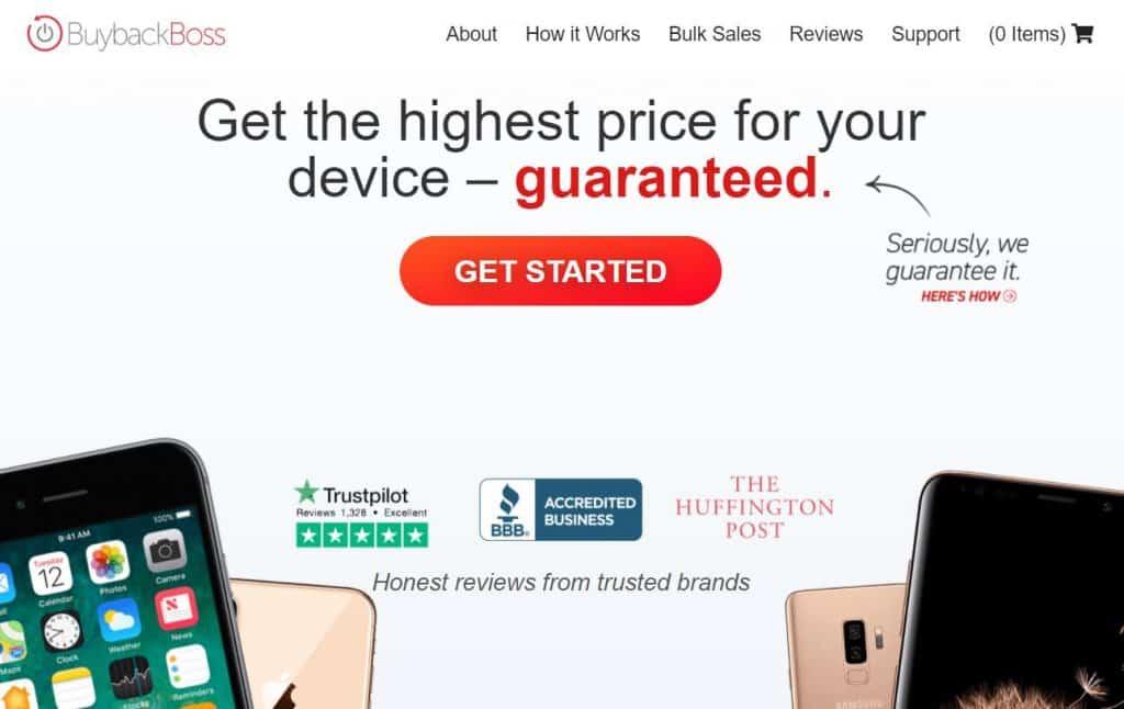 BuyBack Boss homepage