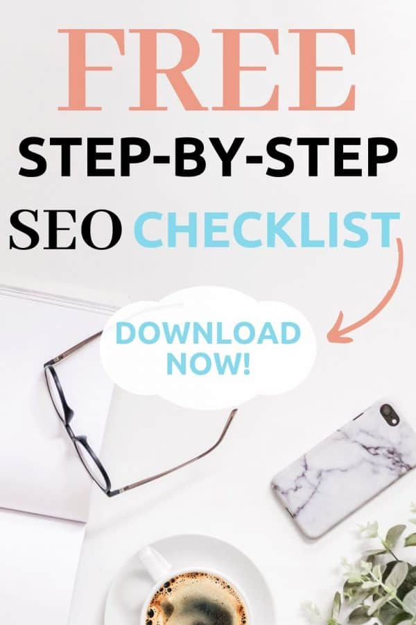 Free SEO Checklist 2020