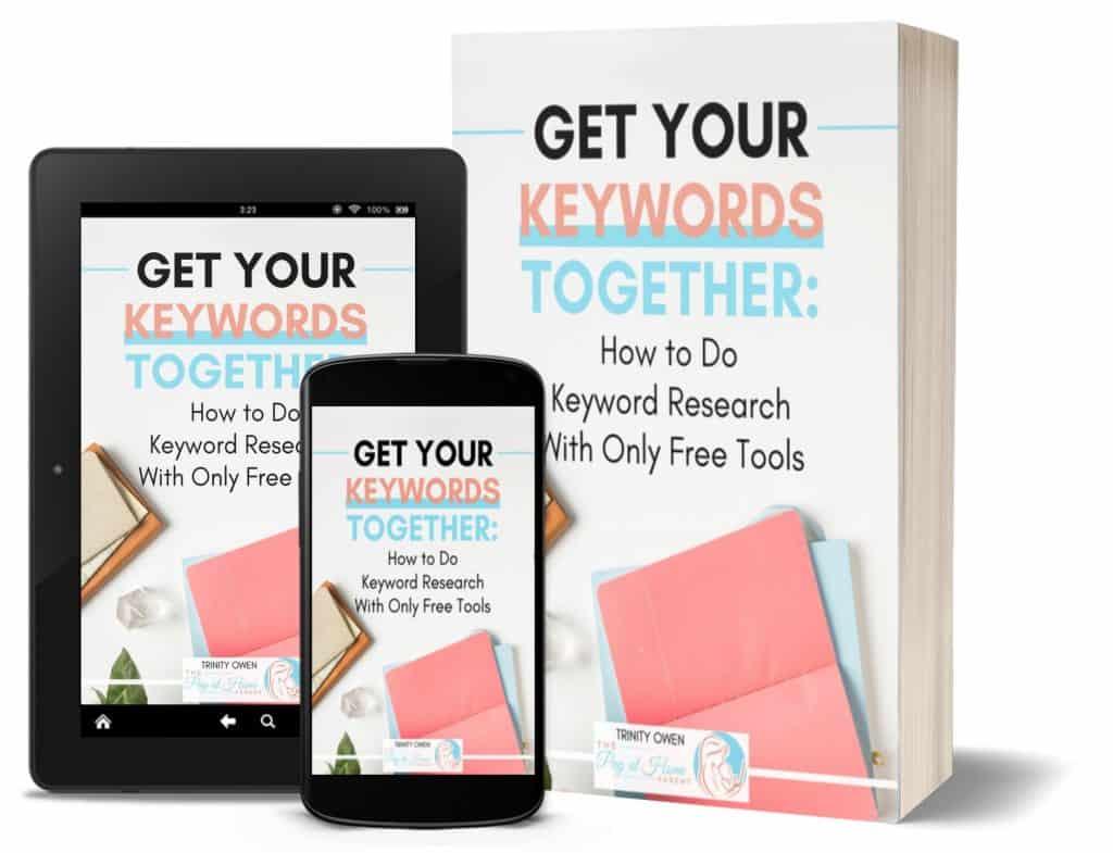 Get Your Keywords Together Mobile Ebook Cover