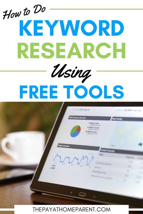 Keyword Research with Free Tools