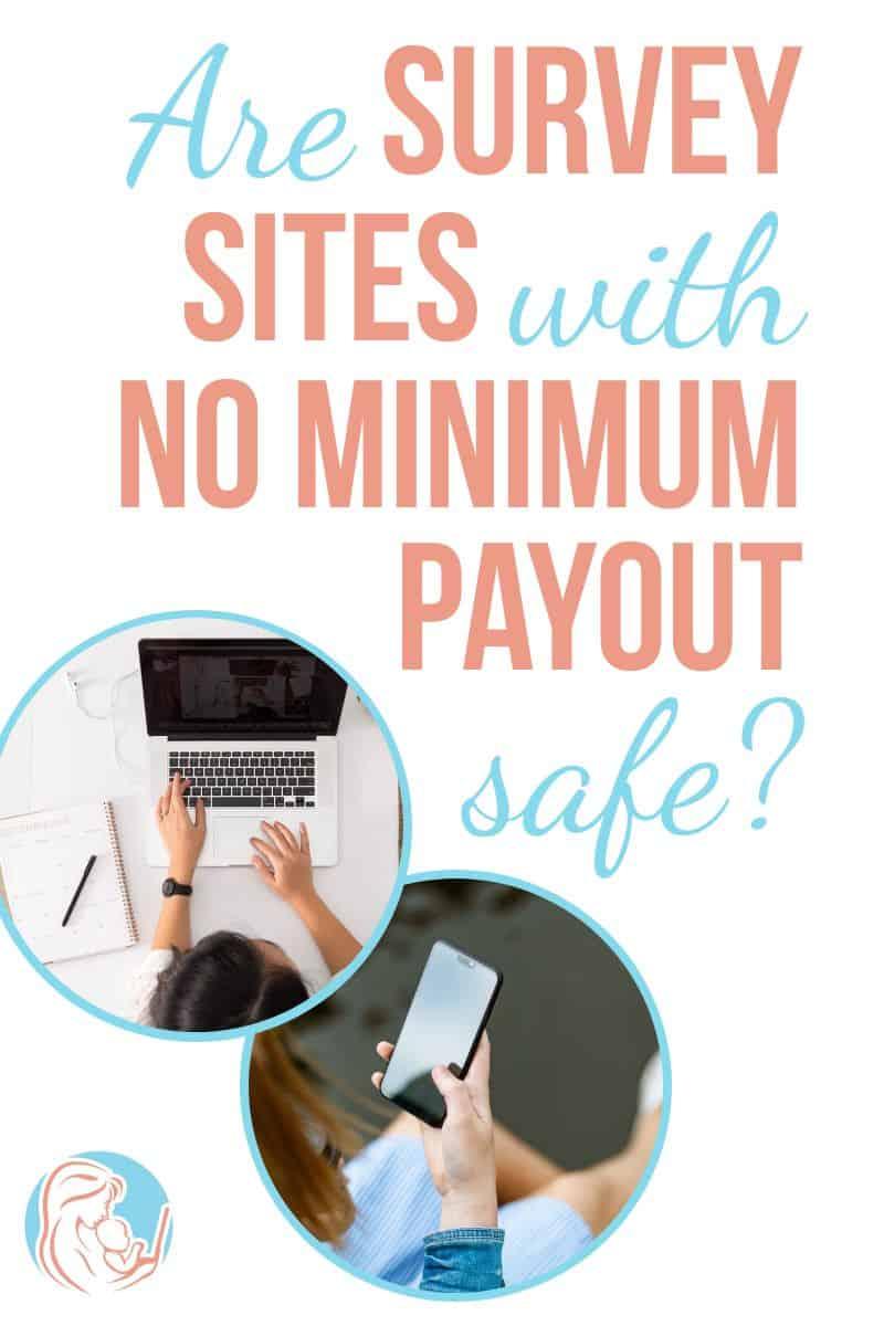 No minimum payment surveys