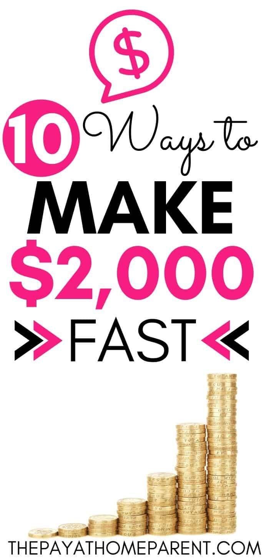 10 Ways to Make 2K Fast
