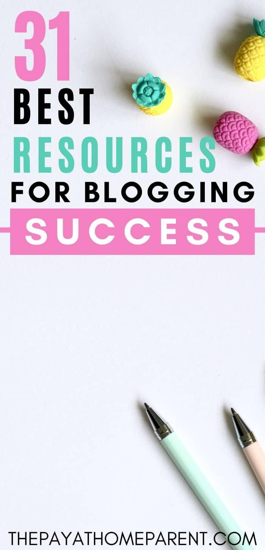 31 Best Blogging Resources