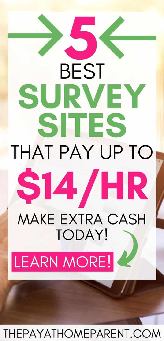 5 Best Survey Sites that Pay 14 an Hour