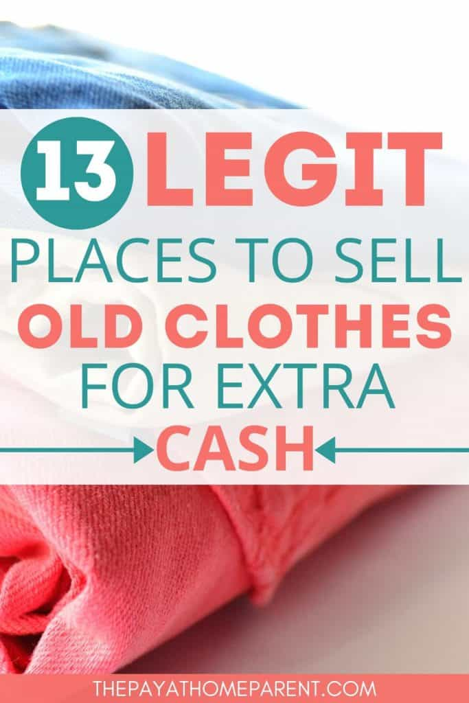 Sell Clothes for Extra Cash