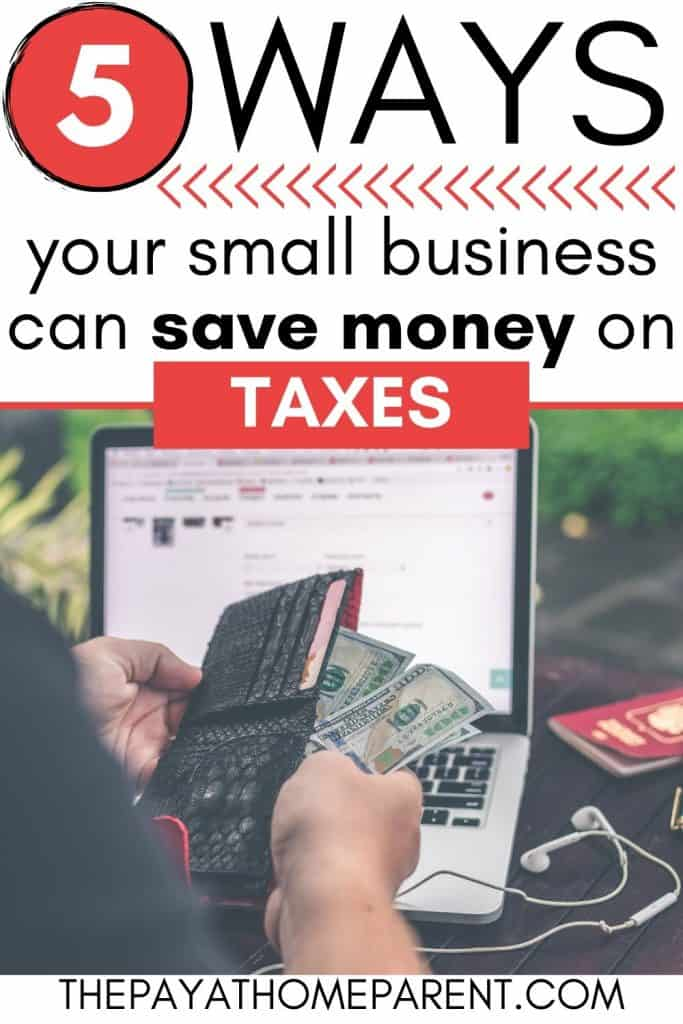 Small Businesses Save on Taxes