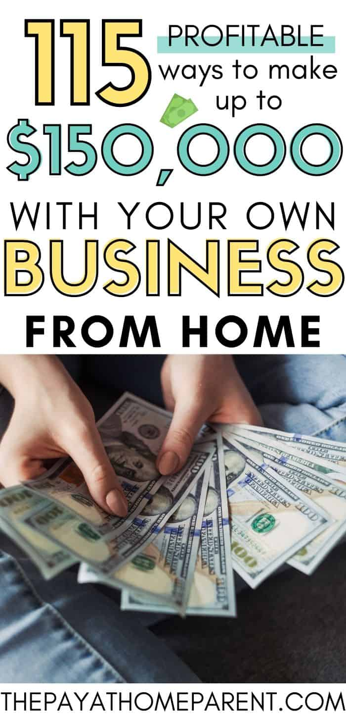 115 Profitable Home Business Ideas