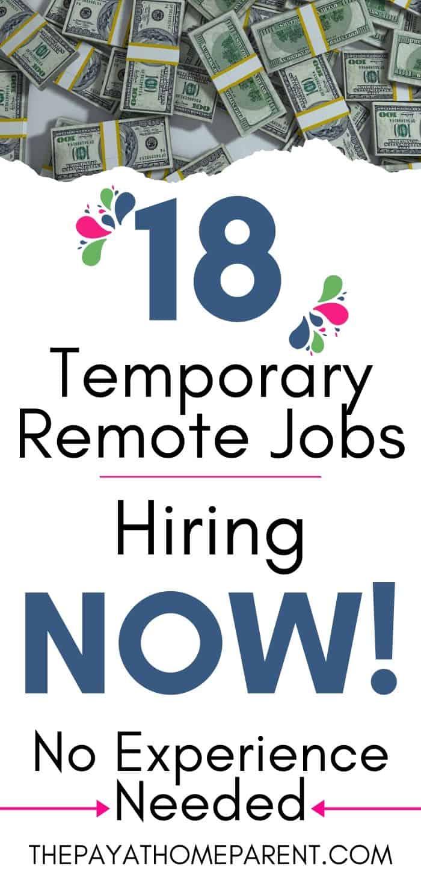 18 Temporary Jobs Hiring Now