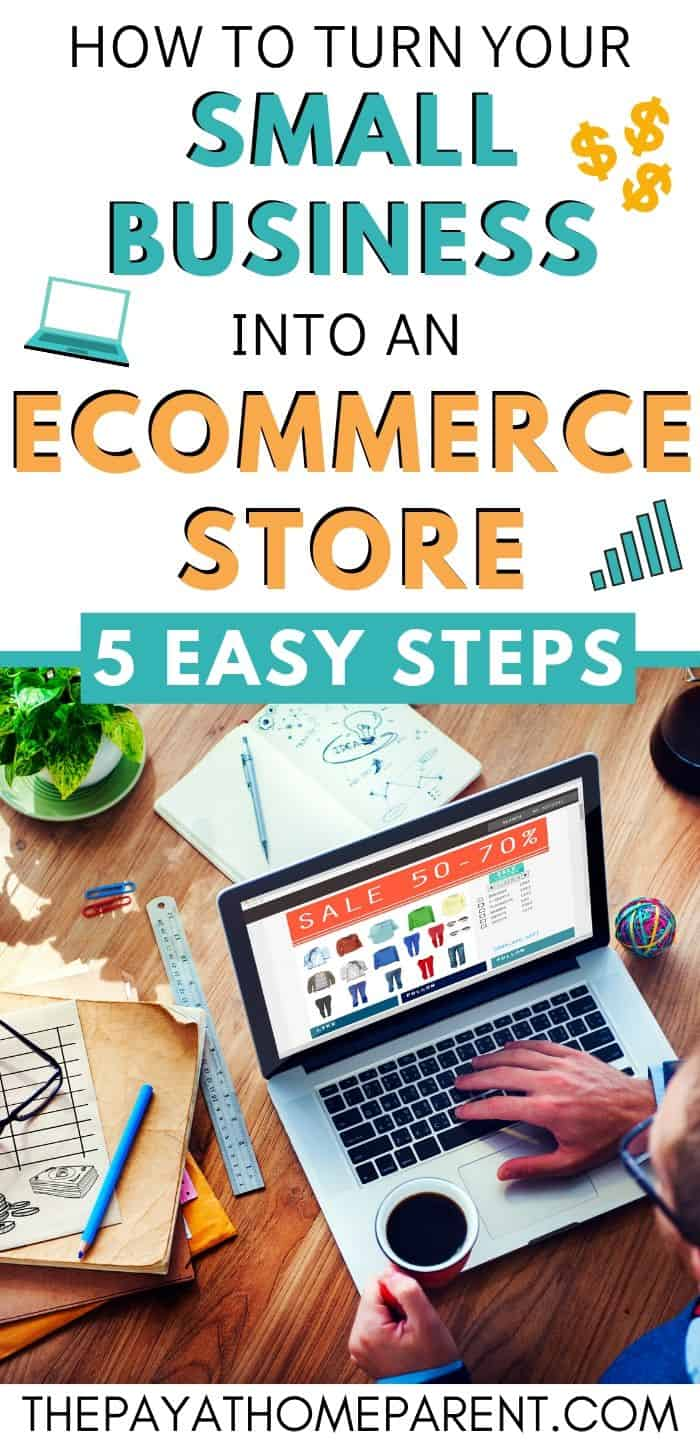 How to Turn Your Small Business into an eCommerce Store