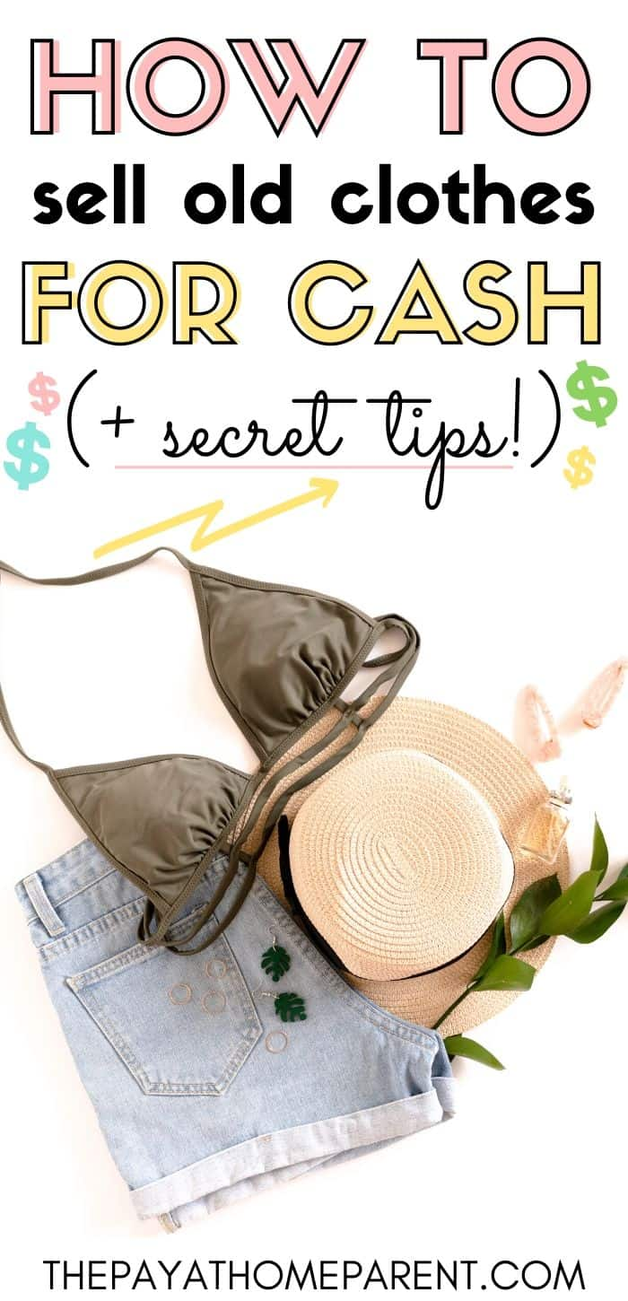 How to Sell Old Clothes for Cash + Secret Tips