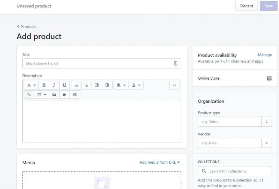 how to add product