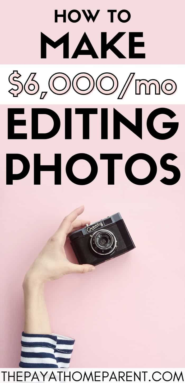 make money editing photos