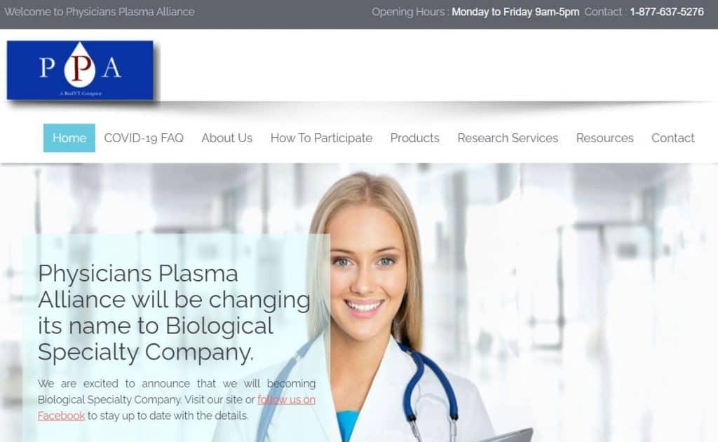 Physicians Plasma Alliance