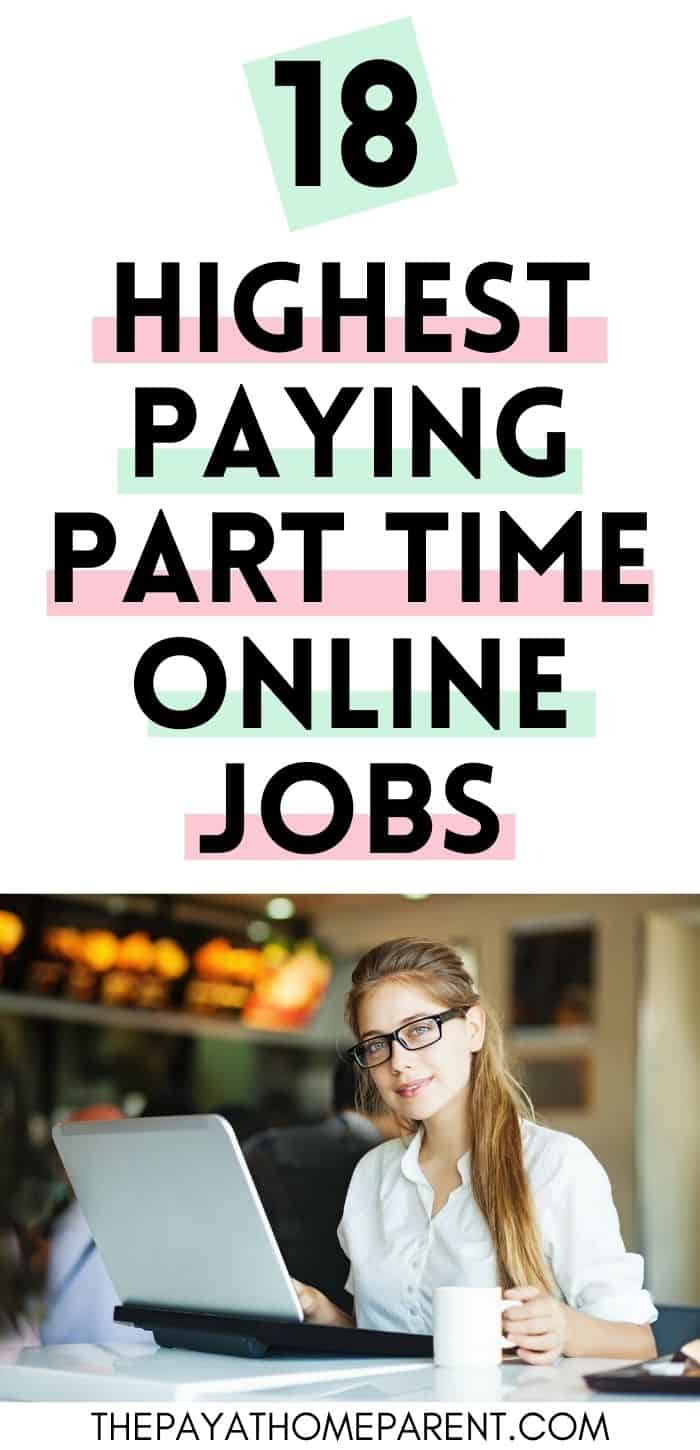 Highest Paying Part Time Online Jobs