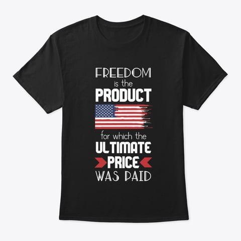 Freedom t-shirt slogan