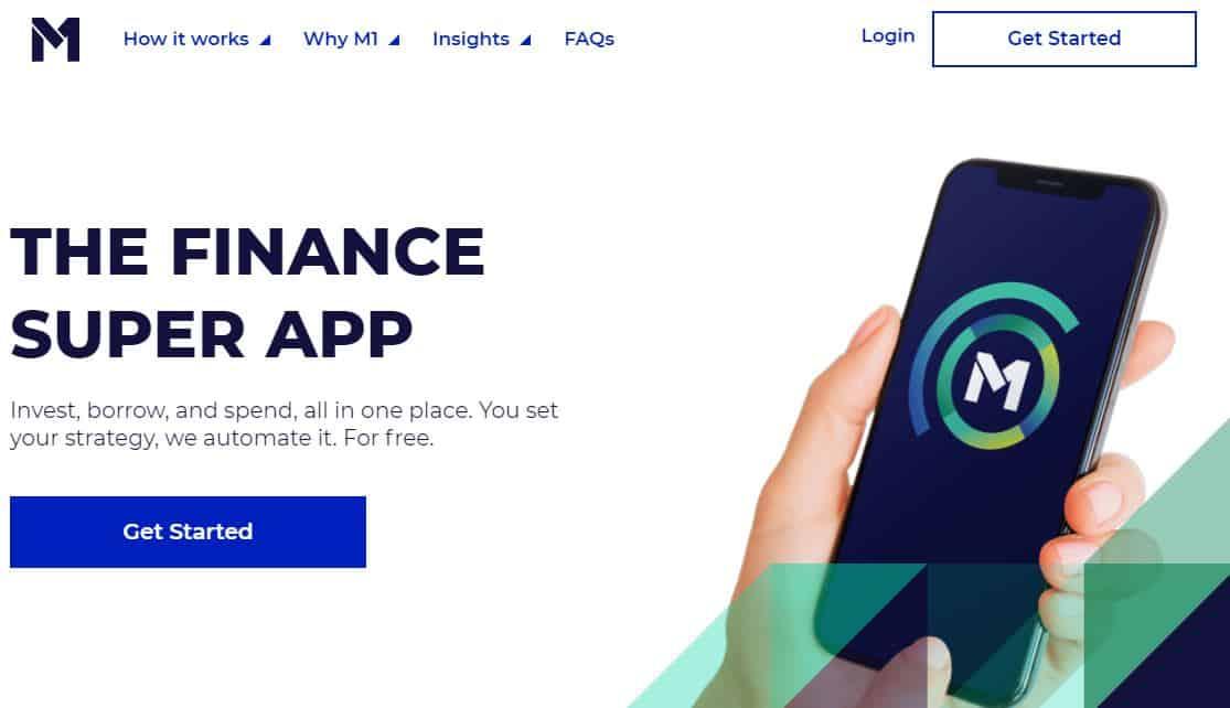 M1Finance screenshot