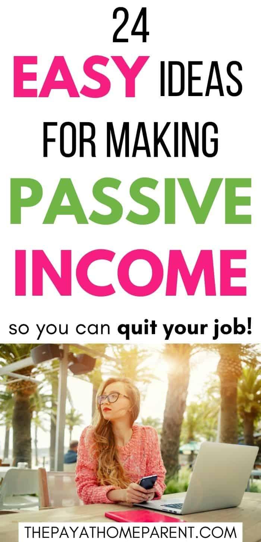 Easy Passive Income Ideas