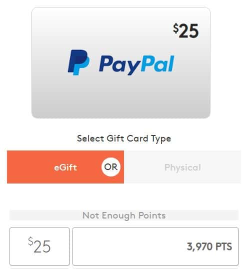 MyPoints PayPal Cash
