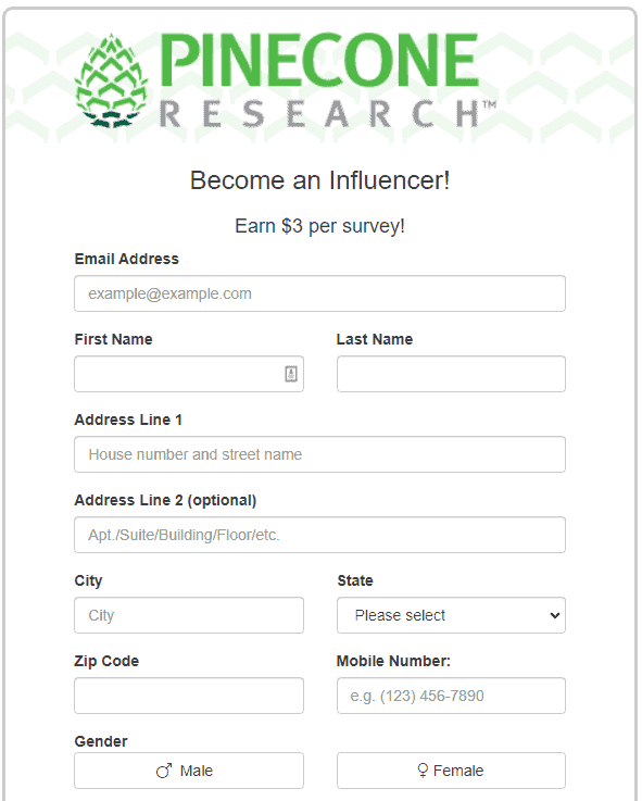become a pinecone research influencer