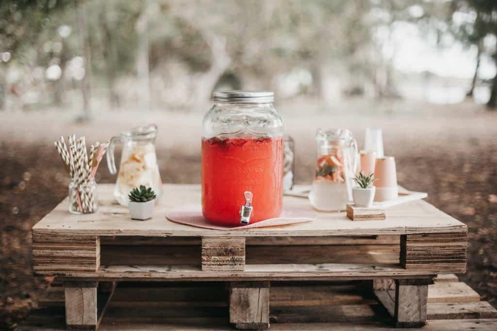 container of Plexus Slim pink drink