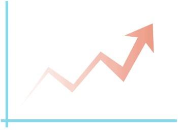 upward trend arrow